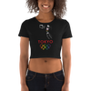 Tribe of the Union Rings Female Gender Identity 2020 Big 'O' Games Women's Basketball Crop Tee