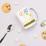 Tribe of the Union Rings Mixed Gender Identity Yellow Skyline Big 'O' Games 11oz./15oz. Coffee Mug