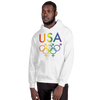 Tribe of the Union Rings USA Mixed Gender Identity LGBTQ colored Unisex Hoodie