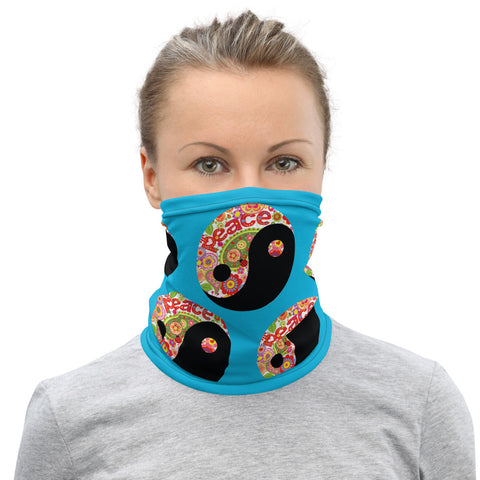 "70's Style ""Peace"" Neck Gaiter"