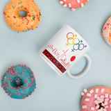 Tribe of the Union Rings Mixed Gender Identity Red Skyline Big 'O' Games 11oz./15oz. Coffee Mug