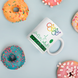 Tribe of the Union Rings Male Gender Identity Green Skyline Big 'O' Games 11oz./15oz. Coffee Mug