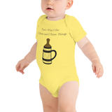 GOT-themed Beer lover Infant/Baby One Piece Body Suit