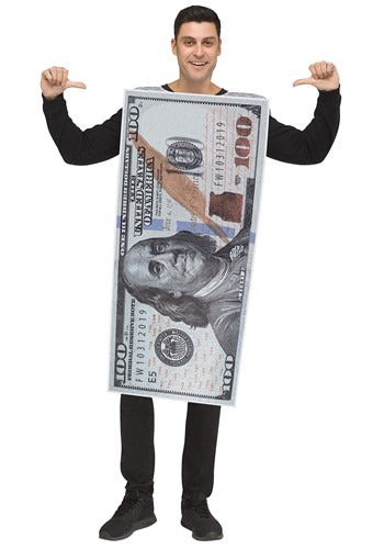 ADULT 100 DOLLAR BILL COSTUME