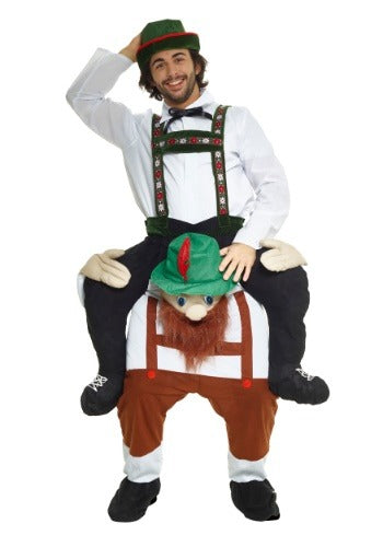 Bavarian Piggyback Adult Costume