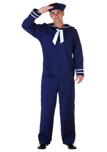 ADULT BLUE SAILOR COSTUME