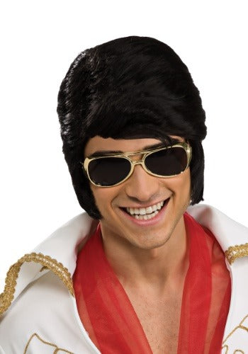 ELVIS GOLD ADULT SUNGLASSES