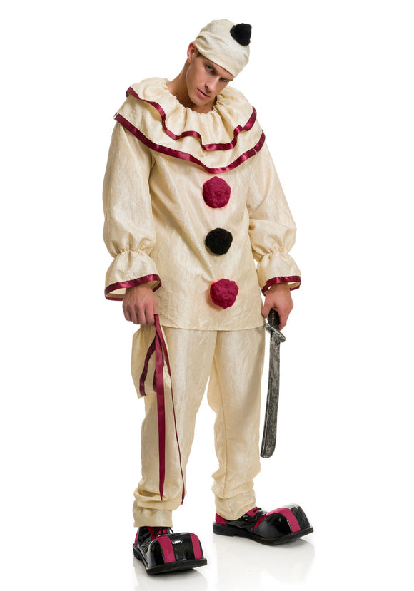 ADULT FREAKY CLOWN COSTUME