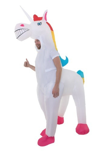 ADULT'S GIANT INFLATABLE UNICORN COSTUME