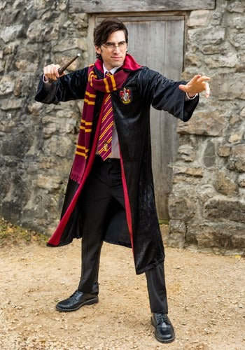 HARRY POTTER ADULT DELUXE GRYFFINDOR ROBE COSTUME