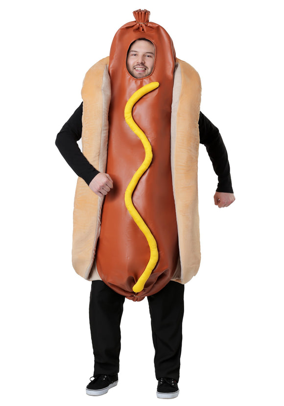 ADULTS HOT DOG COSTUME