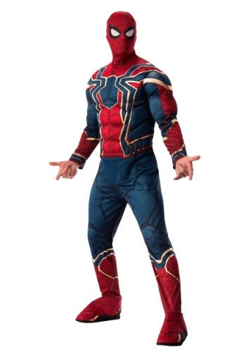 MARVEL ADULT INFINITY WAR DELUXE IRON SPIDER COSTUME