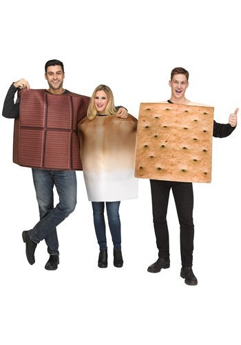 ADULT SMORES COSTUME