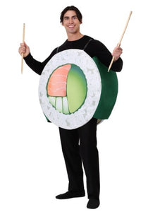 SUSHI ROLL ADULT FOOD COSTUME