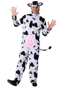 ADULT MEN'S COW COSTUME