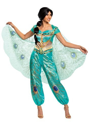 DISNEY ALADDIN LIVE ACTION WOMEN'S JASMINE COSTUME