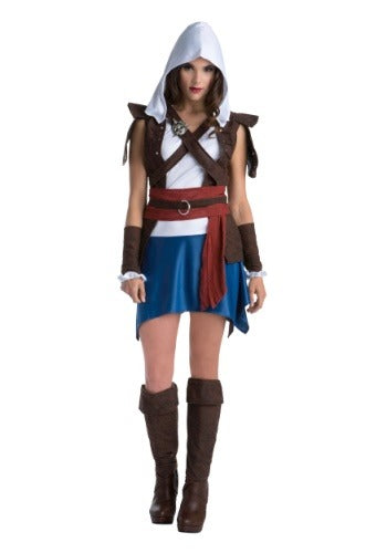 WOMEN'S ASSASSINS CREED EDWARD KENWAY CLASSIC COSTUME