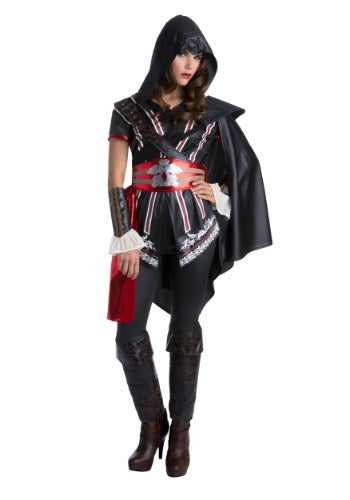ASSASSINS CREED MASTER ASSASSIN EZIO CLASSIC WOMEN'S COSTUME