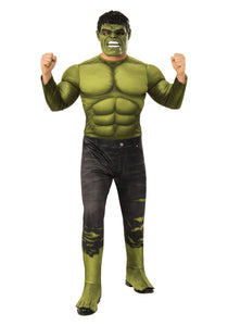 MARVEL AVENGERS ENDGAME DELUXE INCREDIBLE HULK MENS COSTUME