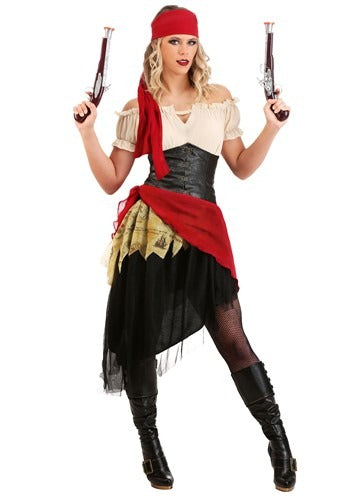 WOMEN'S BEAUTIFUL BUCCANEER COSTUME