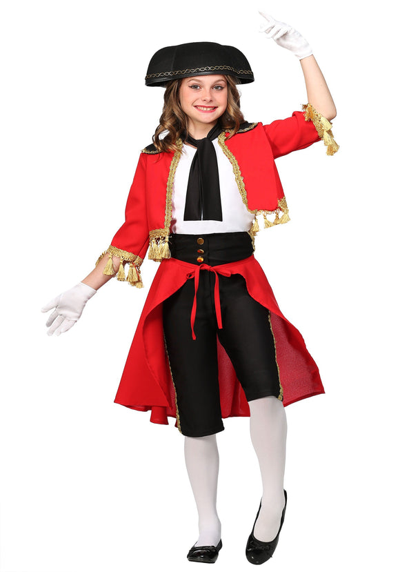 GIRLS BEAUTIFUL MATADOR COSTUME