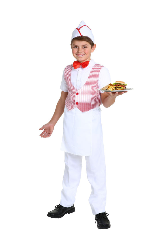 KIDS 50S CAR HOP COSTUME
