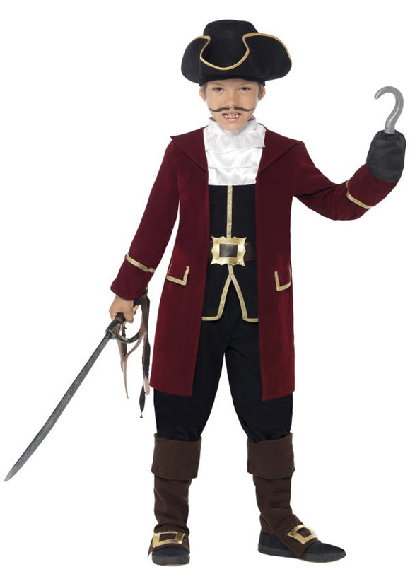 DELUXE CAPTAIN HOOK BOY'S COSTUME