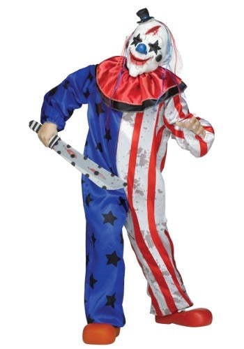 Kids Evil Clown Costume