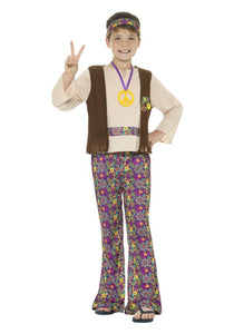 HIPPIE COSTUME FOR BOYS