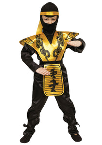 BOYS MORTAL NINJA COSTUME