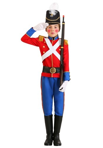 BOY'S TOY SOLDIER COSTUME