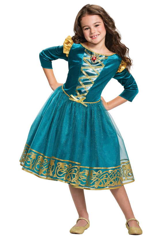 BRAVE MERIDA CLASSIC COSTUME FOR GIRLS