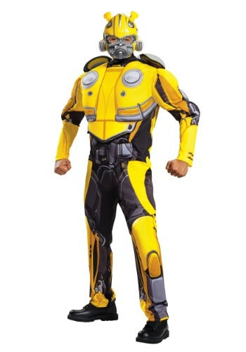 Bumblebee Movie Adult Bumblebee Muscle Costume