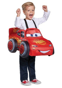 CARS LIGHTNING MCQUEEN 3D COSTUME FOR TODDLERS