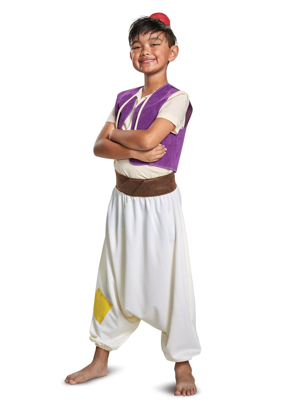 CHILD'S ALADDIN STREET RAT COSTUME