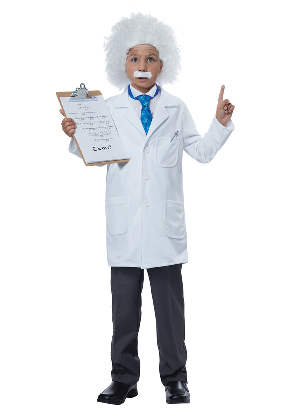 CHILD ALBERT EINSTEIN/PHYSICIST COSTUME