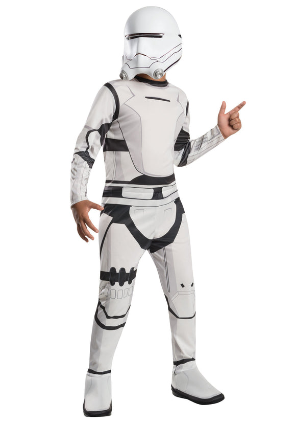 CHILD CLASSIC STAR WARS THE FORCE AWAKENS FLAMETROOPER COSTUME