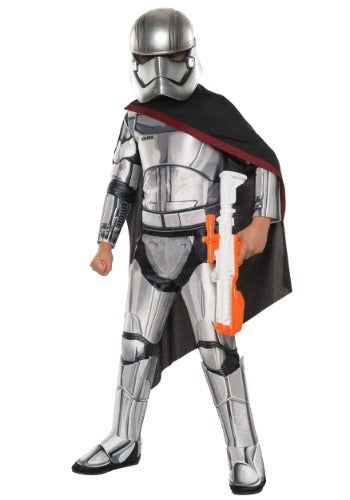 CHILD DELUXE STAR WARS THE FORCE AWAKENS CAPTAIN PHASMA COSTUME