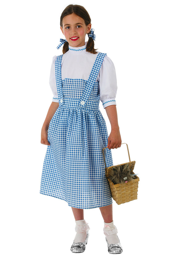 CHILD KANSAS GIRL DRESS COSTUME