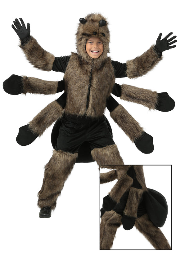 CHILD FURRY SPIDER COSTUME