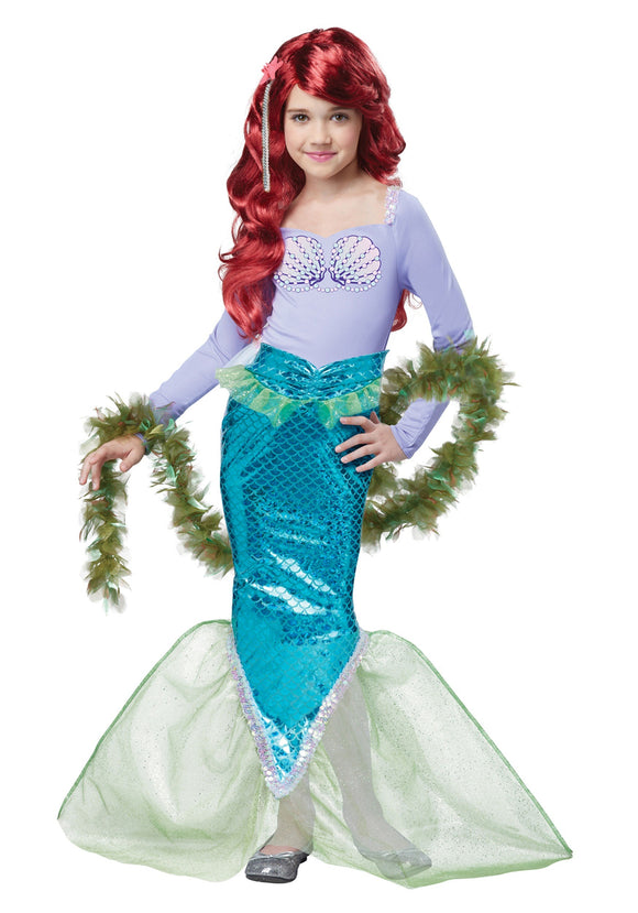 CHILD MAGICAL MERMAID COSTUME