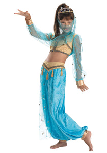 CHILD MYSTICAL GENIE COSTUME