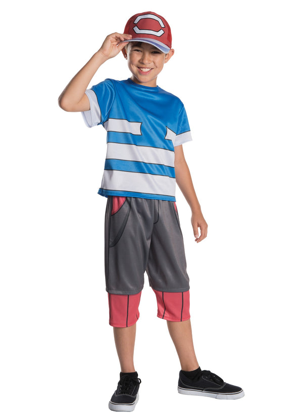 ASH POKEMON CHILD COSTUME