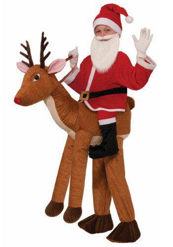 RIDE A REINDEER COSTUME FOR KIDS