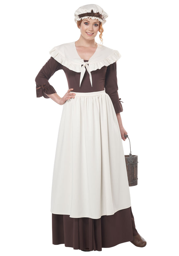 COLONIAL VILLAGE WOMAN COSTUME