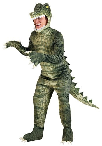 ADULT DANGEROUS ALLIGATOR COSTUME
