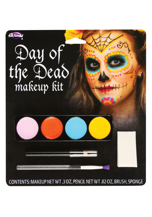 DAY OF THE DEAD FEMALE MAKEUP