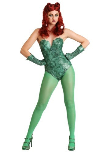 DC COMICS POISON IVY WOMENS COSTUME