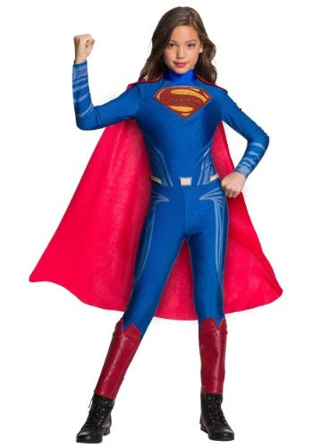 DC Superman Jumpsuit Costume for Girls