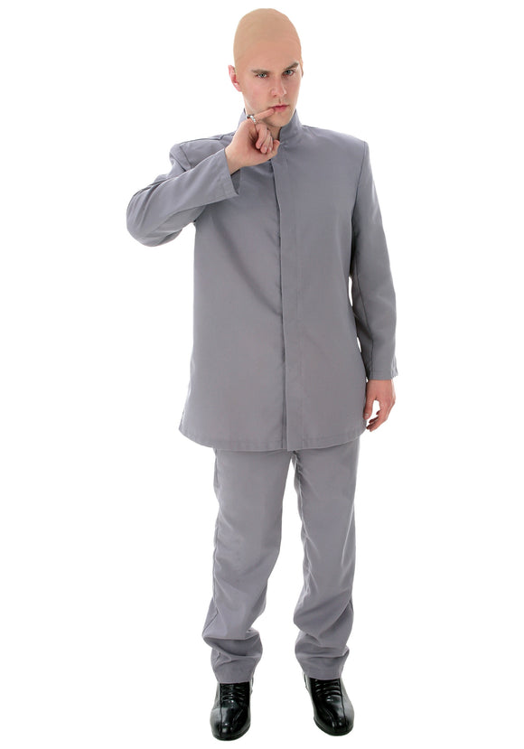 DELUXE ADULT GRAY SUIT COSTUME